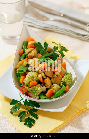 Mixed Autumn vegetables. Recipe available. - Stock Photo