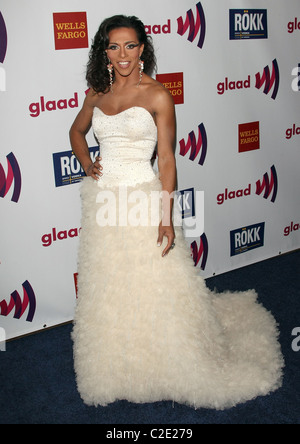 SHANGELA 22ND ANNUAL GLAAD MEDIA AWARDS DOWNTOWN LOS ANGELES CALIFORNIA USA 10 April 2011 - Stock Photo