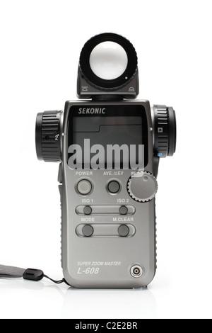 sekonic photo equipment light meter - Stock Photo