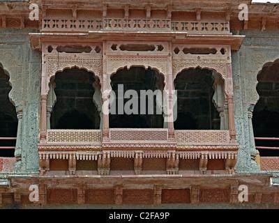 Indore Palace (King Holkar's Palace), Indore, Madhya Pradesh, India - Stock Photo