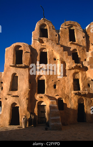 Ksar Ouled Soltane Tataouine Tunisia - Stock Photo