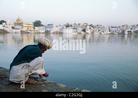 Pushkar Rajasthan India - Stock Photo