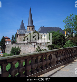 Katholische Michaelskirche in Fulda, Hessen - Stock Photo