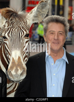 Dustin Hoffman 'Mr Magorium's Wonder Emporium' - UK premiere at Empire Leicester Square- arrivals London, England - Stock Photo