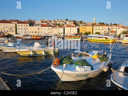 Mali Losinj in Croatia. - Stock Photo