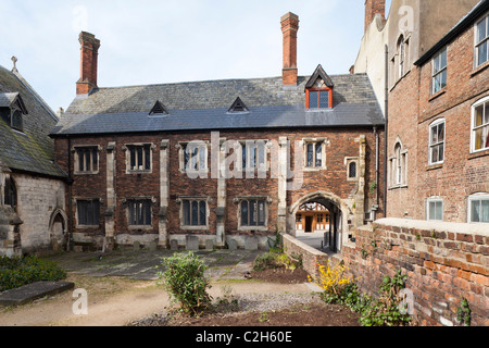 The Old Crypt School Room, Southgate Street, Gloucester - Stock Photo