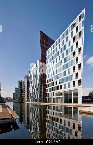 Carmine Building in Merchant Square, Paddington Basin designed by architects mossessian & partners. - Stock Photo