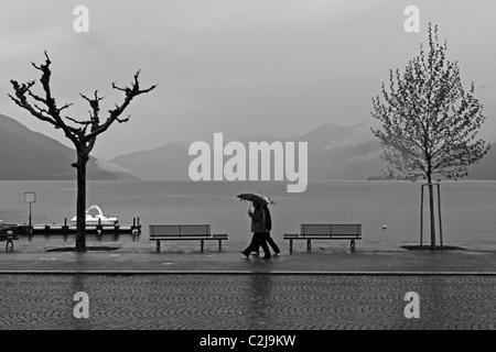 Ascona - Switzerland - in the rain