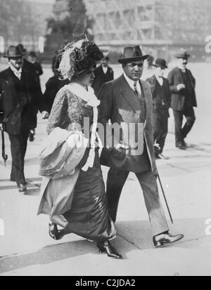 Mr. & Mrs. Enrico Caruso - Stock Photo