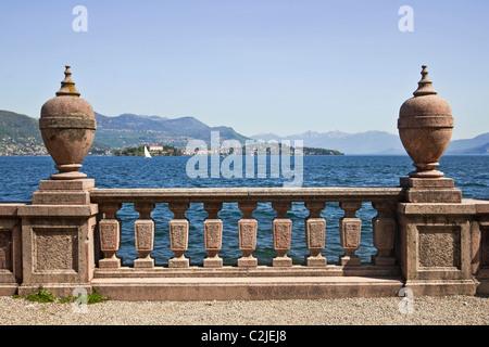 Palazzo Borromeo - Isola Bella - Italy - Stock Photo