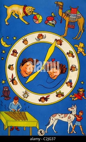 Hebrew Children's Card - Stock Photo