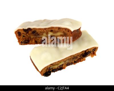 Mr Kipling Simnel Cake - Stock Photo