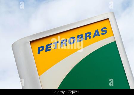 Petrobras sign - Stock Photo
