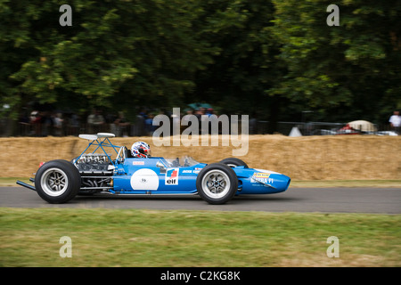 Matra Cosworth F1 car at Goodwood Festival of Speed, Sussex, UK - Stock Photo