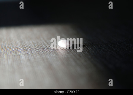 PILL ON THE TABLE - Stock Photo