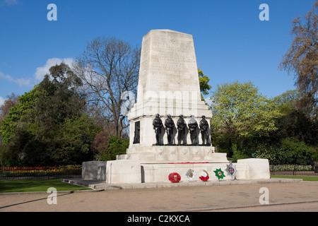 Guards Memorial, Horse Guards Parade,London, England, UK - Stock Photo