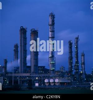 Teeside Industry. - Stock Photo