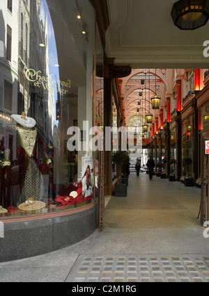 Royal Arcade, New Bond Street, Piccadilly, London. - Stock Photo