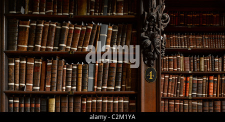 Library, St Paul's Cathedral, City of London, London. - Stock Photo
