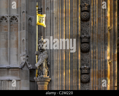 Houses of Parliament, Westminster, London. - Stock Photo