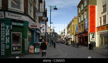 Brick Lane, Tower Hamlets, London. - Stock Photo