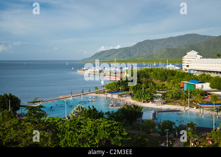 The Esplanade Lagoon. Cairns, Queensland, AUSTRALIA - Stock Photo