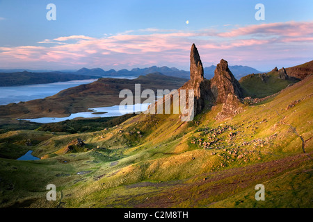 Old man of Storr, Isle of Skye - Stock Photo