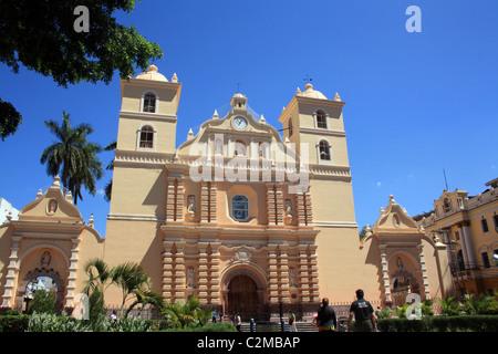 METROPOLITAN CATHEDRAL TEGUCIGALPA HONDURAS 17 February 2011 - Stock Photo