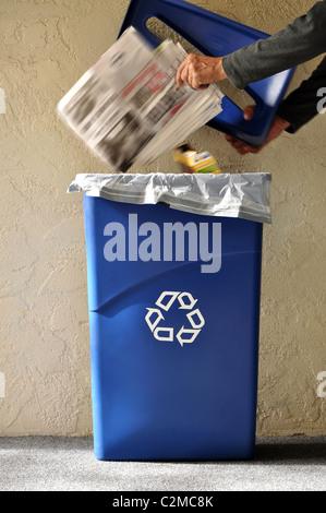 recycle bin - Stock Photo