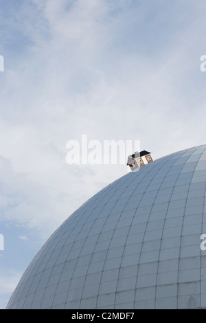 The Ericsson Globe (AKA The Stockholm Globe Arena or Globen), Stockholm. - Stock Photo