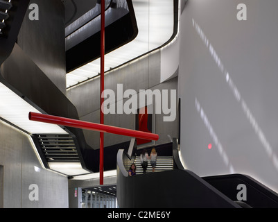 The MAXXI, National Museum of 21st Century Arts, Rome. - Stock Photo