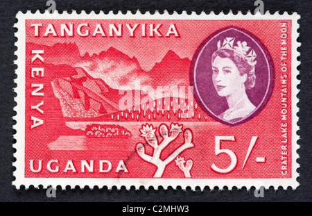 British postage stamp - Stock Photo
