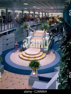 TV-am, Television studios. (1983-1992) - Stock Photo