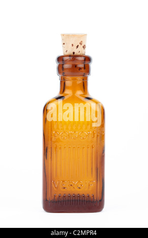 Poison Bottle Cut Out - Stock Photo