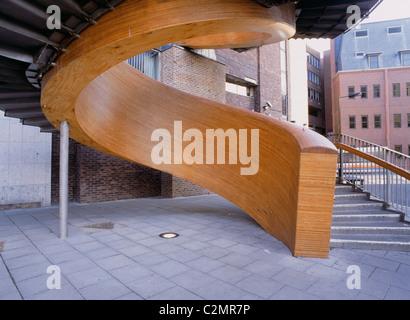 Blue Carpet, Laing Art Gallery Square, Newcastle - Stock Photo