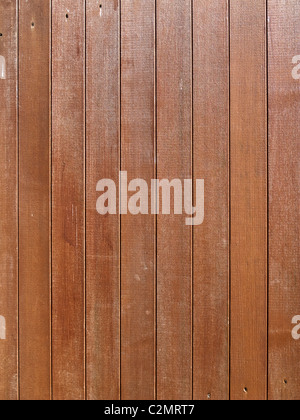 Wood texture - wooden fence panels close up - Stock Photo