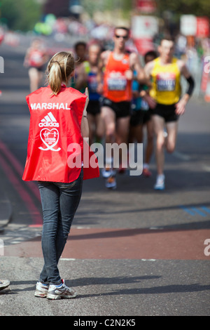 The Virgin London Marathon 2011 - Stock Photo