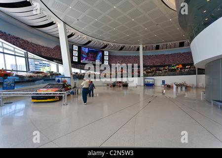 Interior Of Nascar Hall Of Fame In Charlotte North Carolina Stock Photo Royalty Free Image