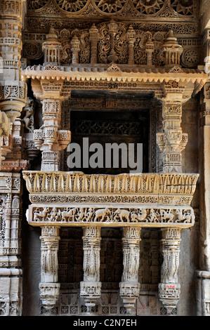 Stepwell ( Adalaj vav) in Gujarath, India - Stock Photo