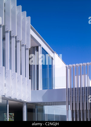 Modern detached house, West Hollywood, California - Stock Photo