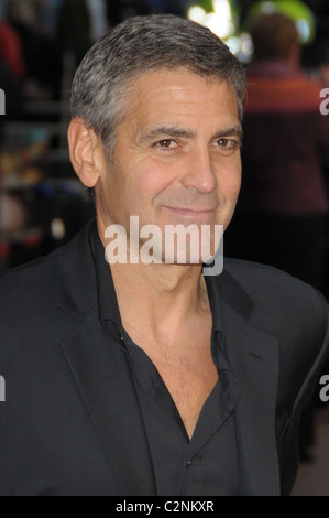 George Clooney UK premiere of 'Leatherheads' held at the ...