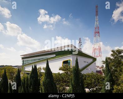 DiGi Technology Operation Centre, Subang High Tech Park, Kuala Lumpur in Malaysia. The building's eco design features - Stock Photo