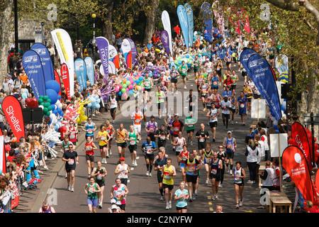 2011 Virgin London Marathon - Stock Photo