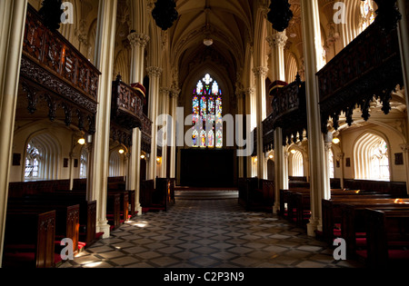 Interior of the Chapel Royal opened on Christmas Day 1814, Dublin Castle, Dublin City, Ireland - Stock Photo