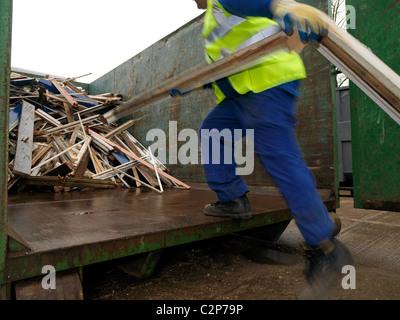 Birmingham CC Decent Homes Investment Programme - Stock Photo