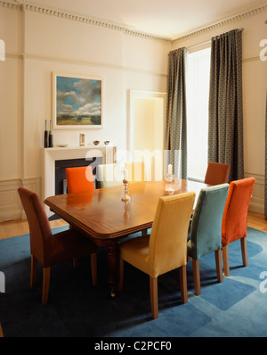 Private House MHSM Edinburgh Scotland Living Room Stock