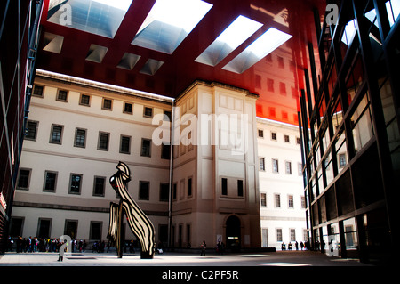 Museo Nacional Centro de Arte Reina Sofía, Madrid, Spain - Stock Photo