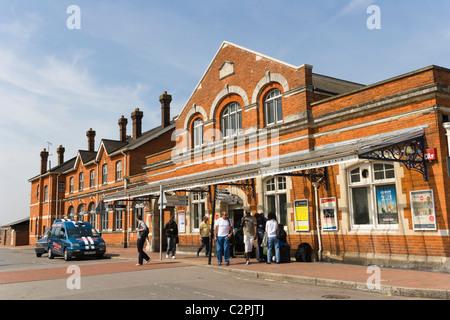 Salisbury Railway Station, South Western Road, Salisbury, Wiltshire, England, UK - Stock Photo