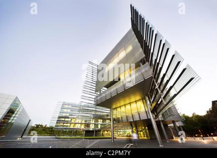 Auckland University, School of Business, New Zealand. Stock Photo