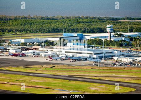 Cairns airport. Cairns, Queensland, Australia - Stock Photo